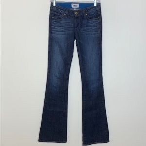 Paige Skyline Boot Flare Jeans